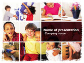 Education & Training: Kids Time PowerPoint Template #05691