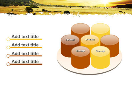 Yellow Valley PowerPoint Template Slide 12