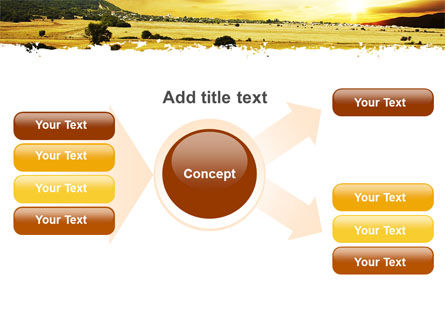 Yellow Valley PowerPoint Template Slide 15