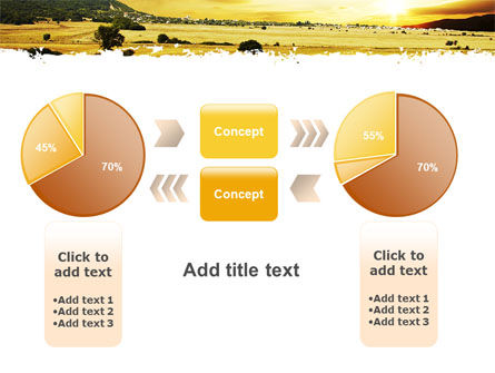 Yellow Valley PowerPoint Template Slide 16