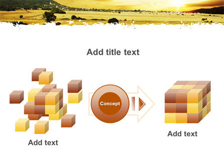Yellow Valley PowerPoint Template Slide 17
