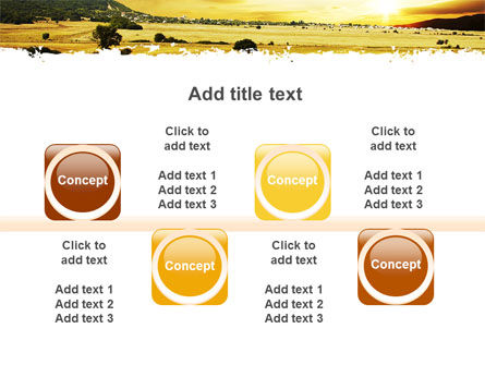 Yellow Valley PowerPoint Template Slide 18