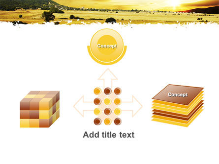 Yellow Valley PowerPoint Template Slide 19