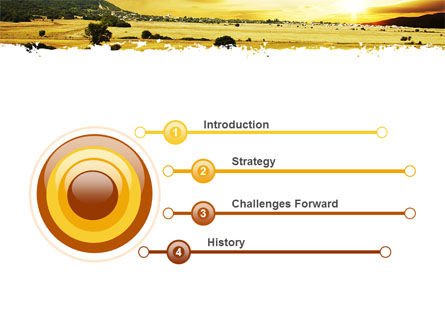 Yellow Valley PowerPoint Template Slide 3