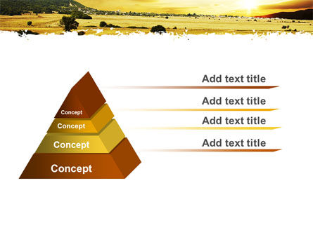 Yellow Valley PowerPoint Template Slide 4