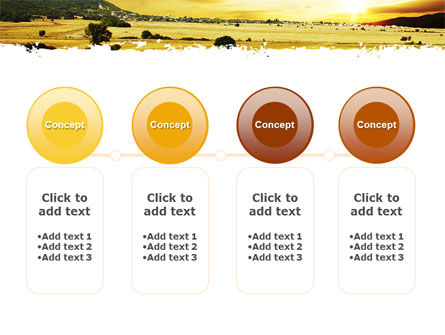 Yellow Valley PowerPoint Template Slide 5