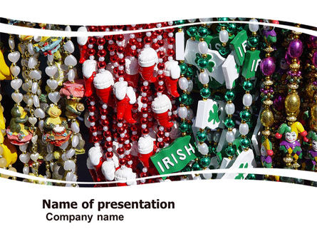 Holiday/Special Occasion: Irish Souvenirs Free PowerPoint Template #05697