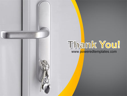 Door Keys Free PowerPoint Template Slide 20