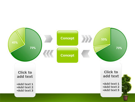 Dollar Tree PowerPoint Template Slide 11