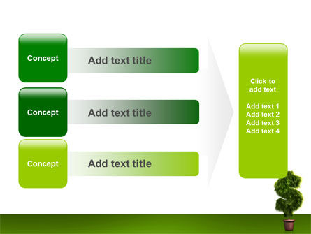 Dollar Tree PowerPoint Template Slide 12