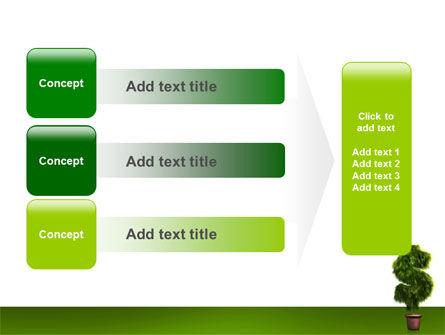Dollar Tree PowerPoint Template Slide 12