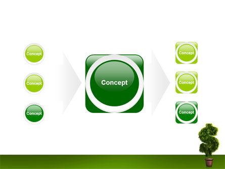 Dollar Tree PowerPoint Template Slide 17