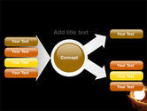 Glowing Sphere PowerPoint Template#15