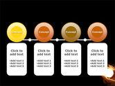 Glowing Sphere PowerPoint Template#5