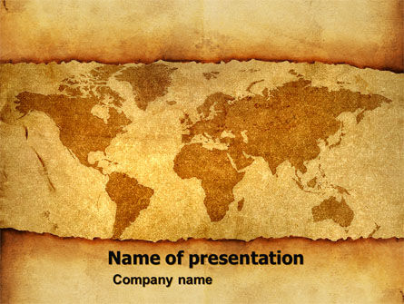 Global: Old World PowerPoint Template #05704