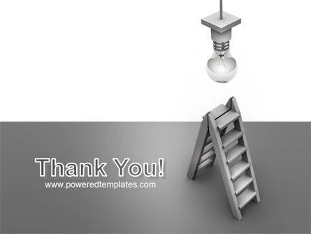 Lightbulb PowerPoint Template Slide 20