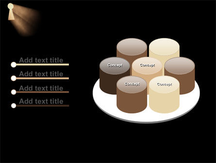 Keyhole In The Dark PowerPoint Template Slide 12