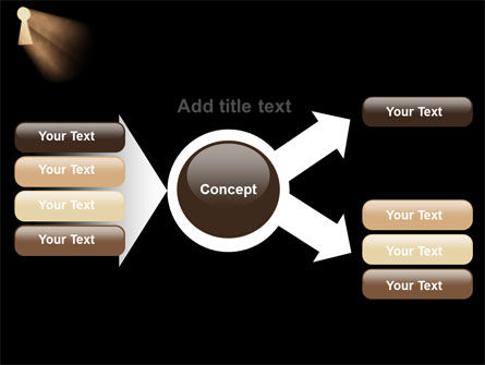 Keyhole In The Dark PowerPoint Template Slide 15