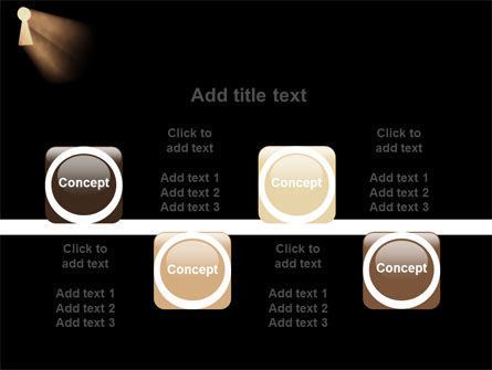 Keyhole In The Dark PowerPoint Template Slide 18