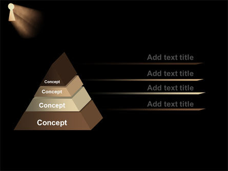 Keyhole In The Dark PowerPoint Template Slide 4