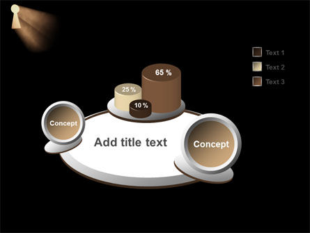 Keyhole In The Dark PowerPoint Template Slide 6