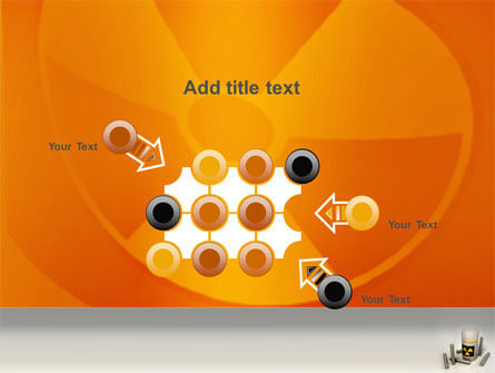 Nuclear Fuel PowerPoint Template Slide 10