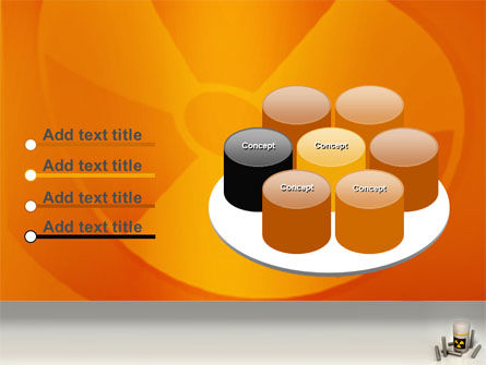Nuclear Fuel PowerPoint Template Slide 12
