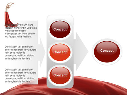 Red Elegance PowerPoint Template Slide 11