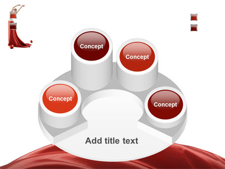 Red Elegance PowerPoint Template Slide 12