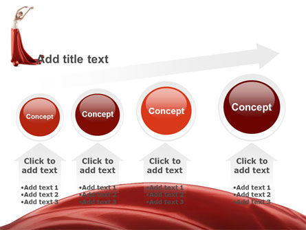 Red Elegance PowerPoint Template Slide 13