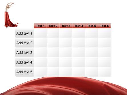 Red Elegance PowerPoint Template Slide 15