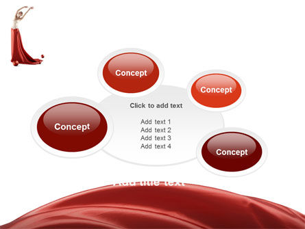 Red Elegance PowerPoint Template Slide 16