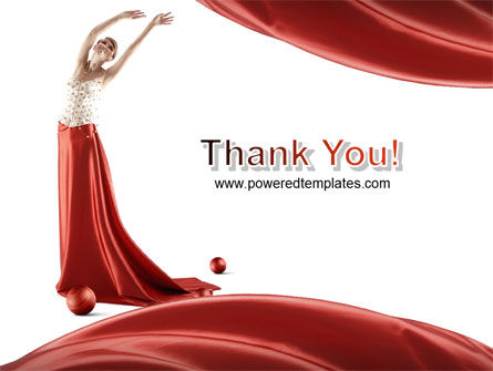 Red Elegance PowerPoint Template Slide 20