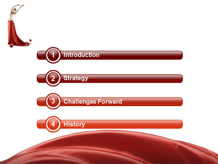 Red Elegance PowerPoint Template Slide 3