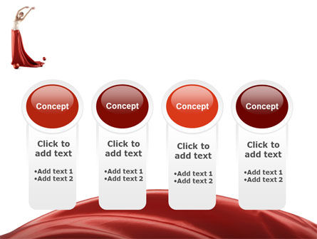 Red Elegance PowerPoint Template Slide 5