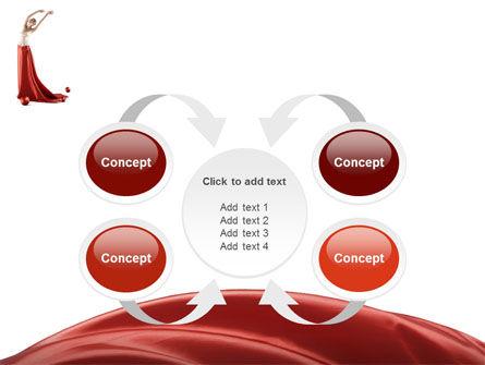 Red Elegance PowerPoint Template Slide 6