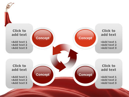 Red Elegance PowerPoint Template Slide 9