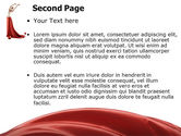 Red Elegance PowerPoint Template#2