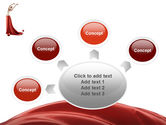 Red Elegance PowerPoint Template#7