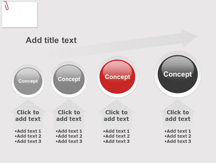 Paperclip PowerPoint Template Slide 13