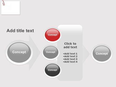 Paperclip PowerPoint Template Slide 17