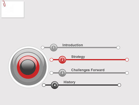 Paperclip PowerPoint Template Slide 3
