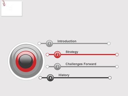 Paperclip PowerPoint Template, Slide 3, 05715, Business — PoweredTemplate.com