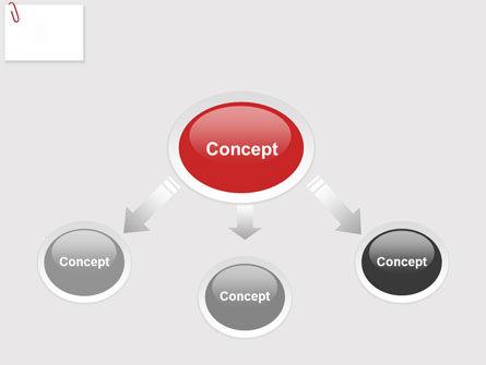 Paperclip PowerPoint Template, Slide 4, 05715, Business — PoweredTemplate.com