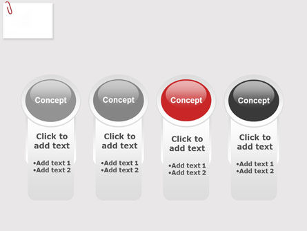 Paperclip PowerPoint Template Slide 5