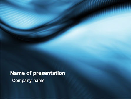 Abstract/Textures: Midnight Blue PowerPoint Template #05717