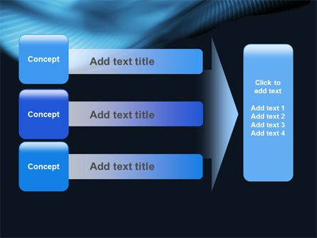 Midnight Blue PowerPoint Template Slide 12