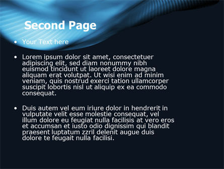 Midnight Blue PowerPoint Template Slide 2