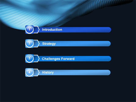Midnight Blue PowerPoint Template Slide 3
