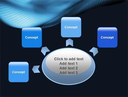 Midnight Blue PowerPoint Template Slide 7